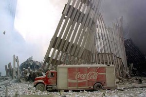 Coca-Cola on September 11, 2011 at the World Trade Center