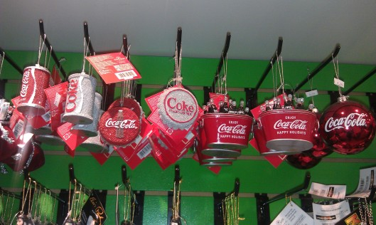Coca-Cola ornaments 2011