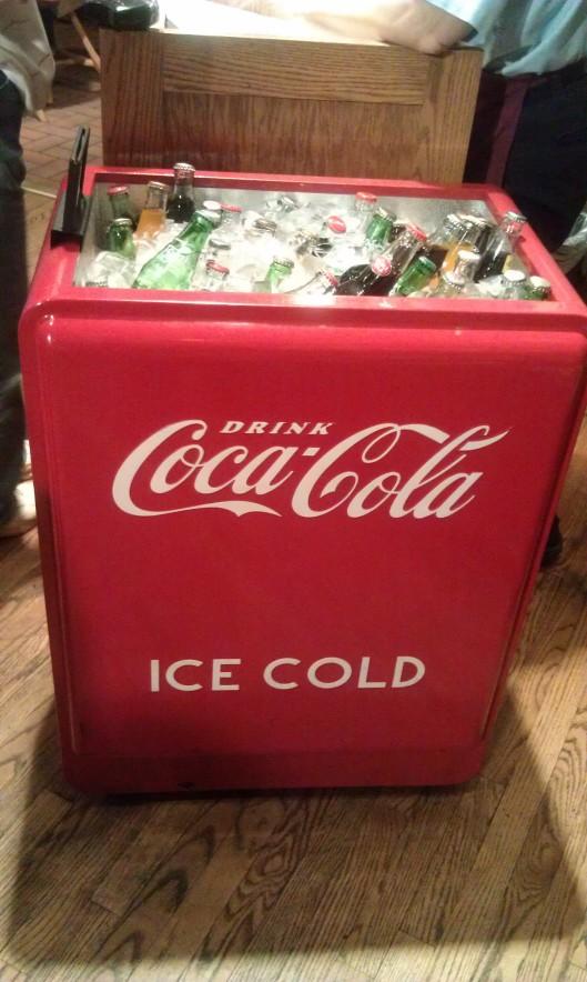 Modern Coca-Cola Cooler
